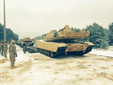 Pierwsze amerykańskie czołgi już w Żaganiu. Co jeszcze przywiozą...