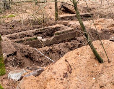 Zbezcześcili groby w poszukiwaniu kosztowności