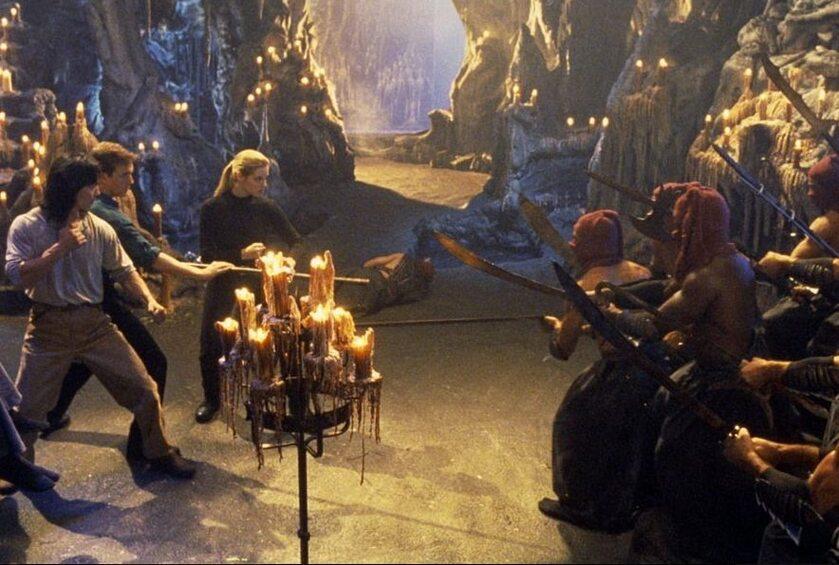 "Kadr z filmu ""Mortal Kombat"" z 1995 roku"