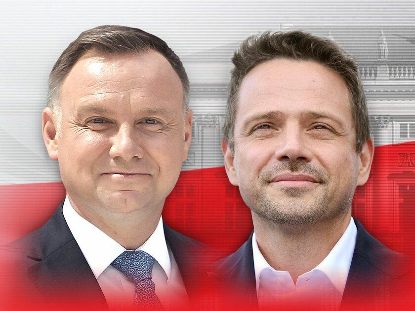 Andrzej Duda i Rafał Trzaskowski