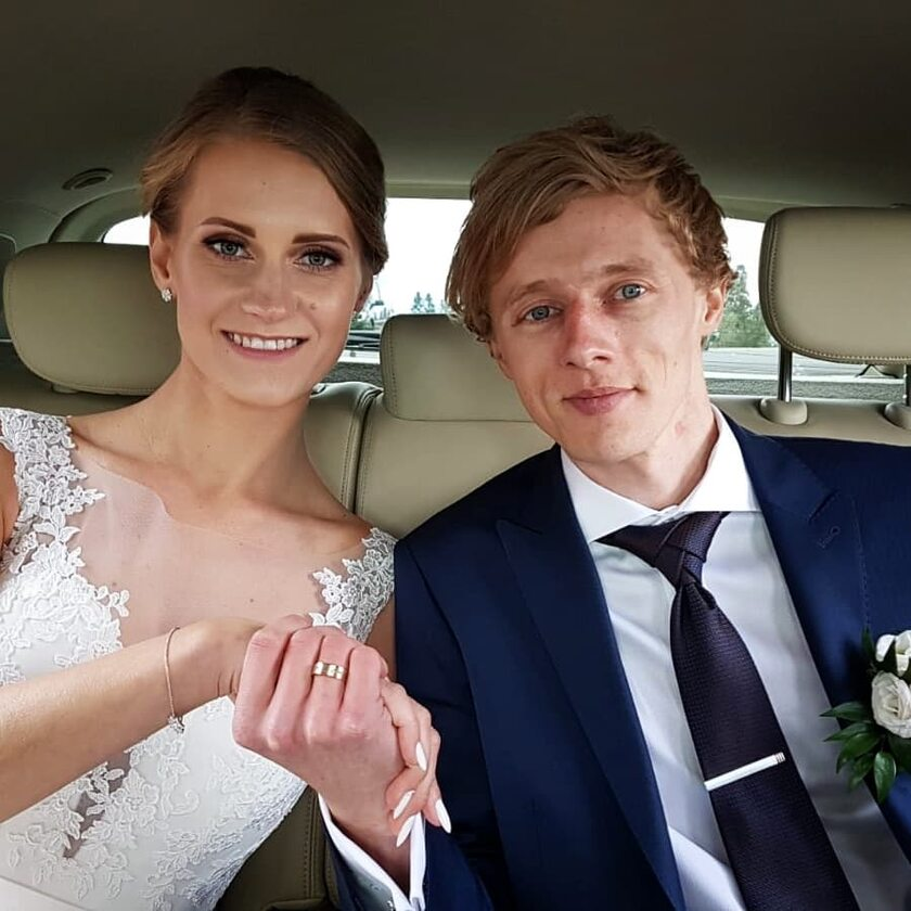 Dawid Kubacki i Marta Majcher