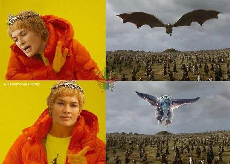 """Mem zainspirowany pierwszym odcinkiem ósmego sezony """"Gry o tron"""""""