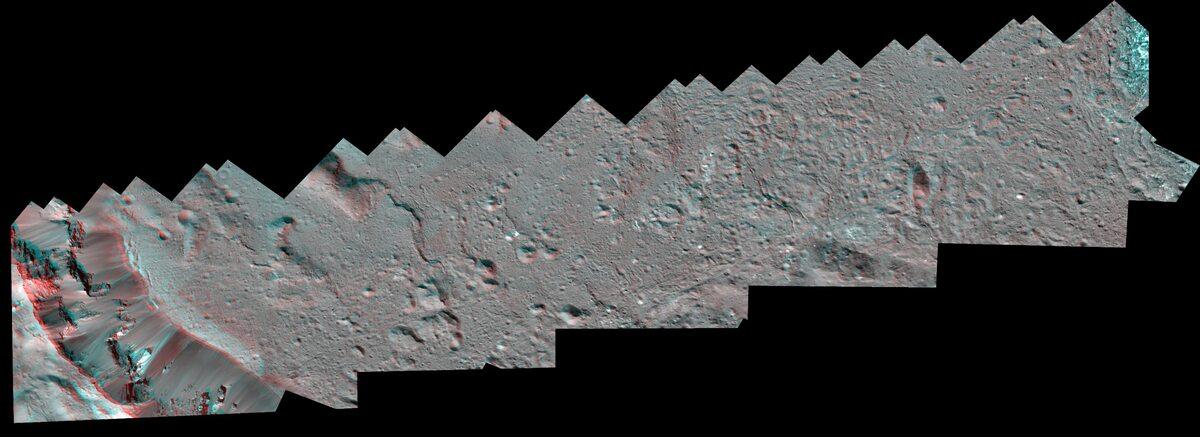 Jasne obiekty na Ceres
