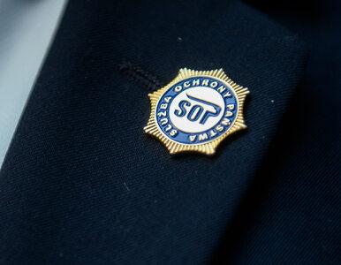 Niedopuszczalne zachowanie funkcjonariuszki SOP. Opuściła posterunek,...