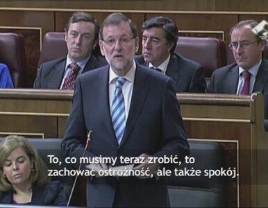 Premier Hiszpanii: Nie jest łatwo zarazić się ebolą