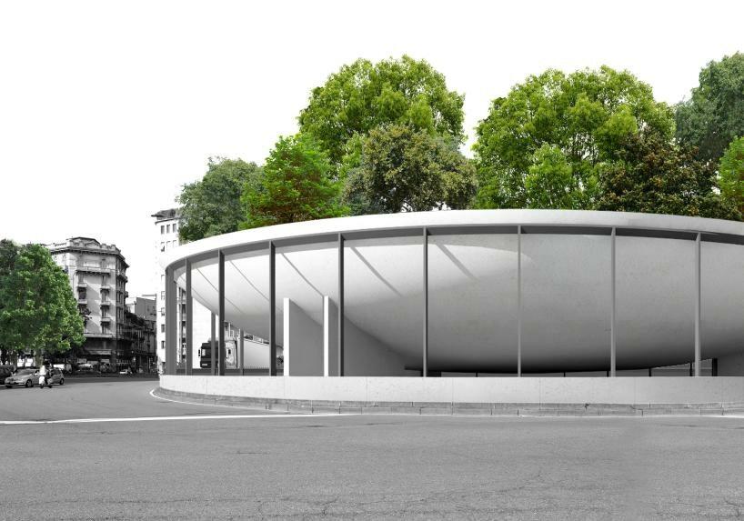 Rondo w Mediolanie Projekt modernizacji ronda w Mediolanie