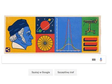 Nowe Google Doodle. Kim był Johann Carl Friedrich Gauß?