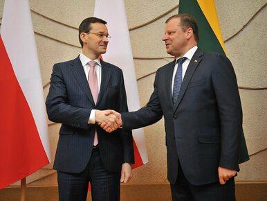 Premier Morawiecki w Wilnie: Litwa jest strategicznym partnerem Polski