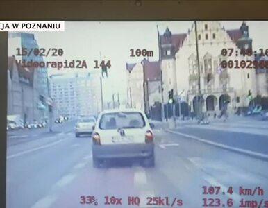 Ulicami Poznania pędził 140 km/h, a po zatrzymaniu odgryzł policjantowi...