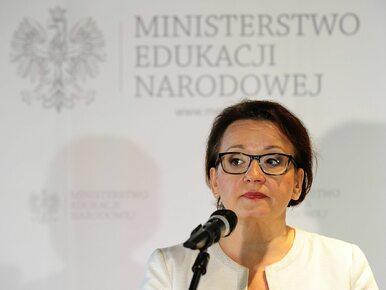 Zalewska: Rząd PiS ochroni nauczycieli przed bezrobociem