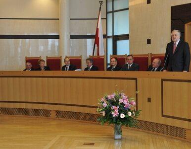 Trybunał Konstytucyjny: PO odebrała Polakom prawo do informacji...