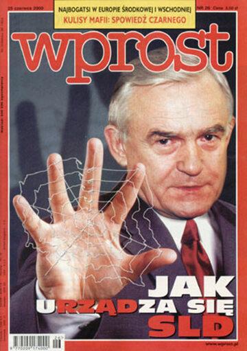 Okładka tygodnika Wprost nr 26/2000 (917)