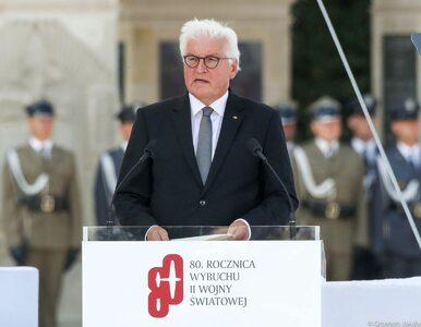 Prezydent Niemiec w Warszawie: Stoję przed państwem bosy