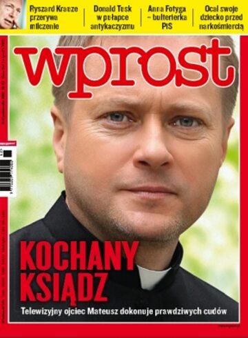 Okładka tygodnika WPROST: 42/2010