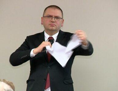 Olsztyńscy sędziowie poparli Juszczyszyna. Prezes Nawacki podarł ich...