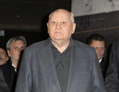 Michaił Gorbaczow o konfrontacji Rosji z Zachodem: Zagrożenie jest...