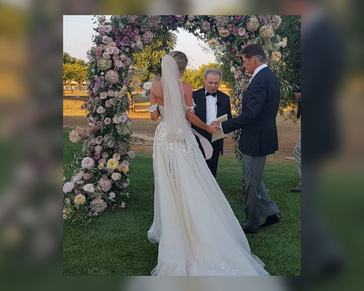 David Hasselhoff i Hayley Roberts