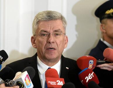 """Karczewski krytykuje Łukaszenkę. """"Zaprzepaszcza szansę zbliżenia z Polską"""""""