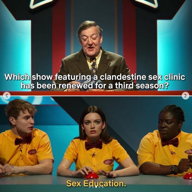 """Jaki serial, w którym występuje tajna seksporadnia, został wznowiony?/""""Sex Education"""""""