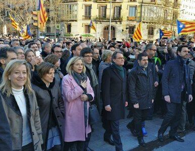 """Były premier Katalonii skazany za """"nieposłuszeństwo"""" wobec Hiszpanii"""