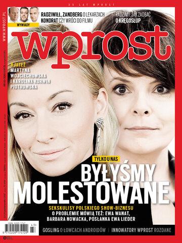 Okładka tygodnika Wprost nr 43/2017 (1808)