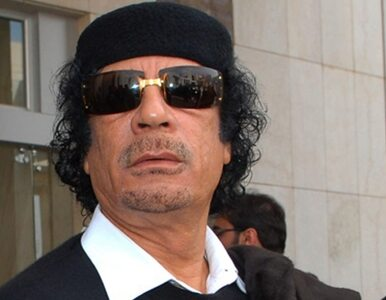 """Kadafi przerwał milczenie. """"Popierają mnie miliony"""""""