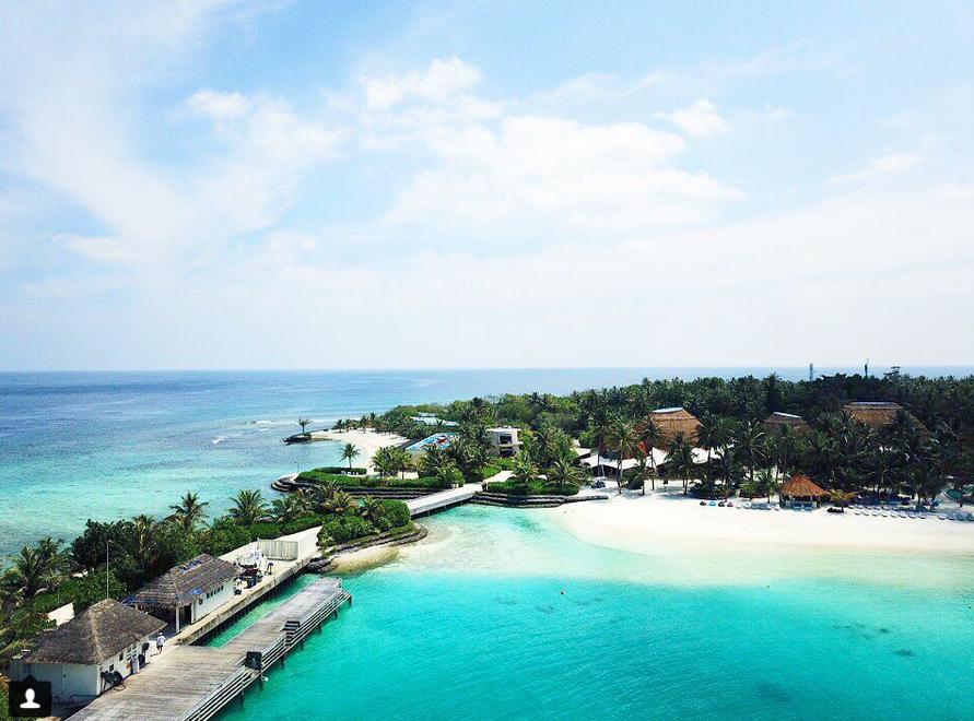 Kurort w Malediwach