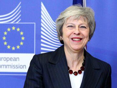 """Theresa May nie boi się wieczornego głosowania. """"Nowy lider musiałby..."""