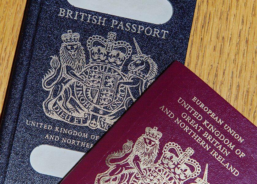 Brytyjskie paszporty