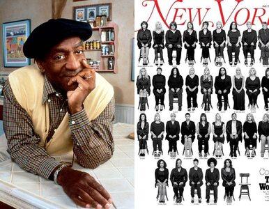 """35 domniemanych ofiar Billa Cosby'ego na okładce """"New York Magazine"""""""