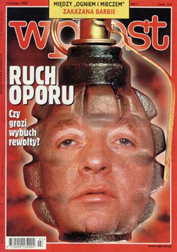 Okładka tygodnika Wprost nr 7/1999 (846)