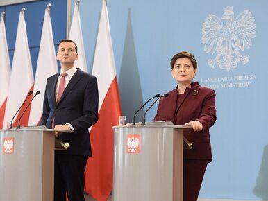 Nieoficjalnie: Mateusz Morawiecki zastąpi Beatę Szydło na stanowisku...