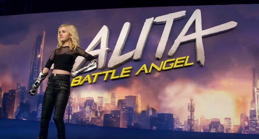 "Tilly Lockey na premierze filmu ""Alita"" Battle Angel"""