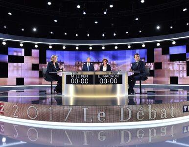 Francja: Sondaż po debacie. Kto był bardziej przekonujący?
