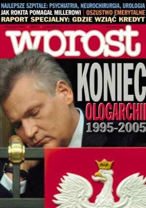 Okładka tygodnika Wprost nr 50/2005 (1202)