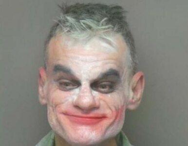 """Przebrał się za Jokera i groził podłożeniem bomby. """"Planuję zabić grupę..."""