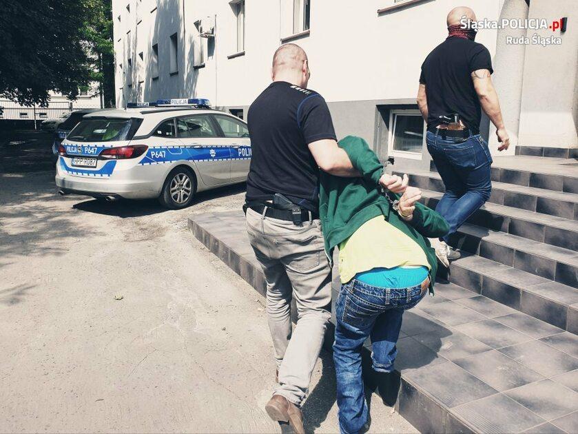Zatrzymany 50-latek z Rudy Śląskiej