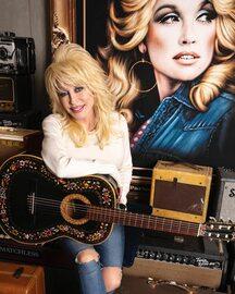 74-letnia piosenkarka muzyki country Dolly Parton