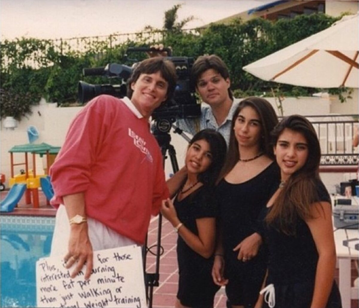 Bruce Jenner, Kourtney i Kim Kardashian