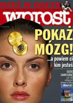 Okładka tygodnika Wprost nr 37/2004 (1137)