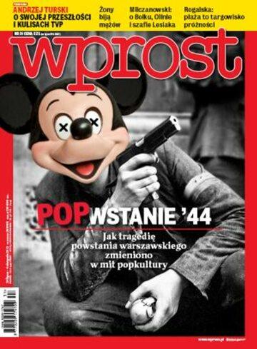 Okładka tygodnika WPROST: 31/2013