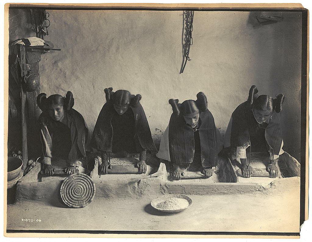 Kobiety z plemienia Hopi, 1906 rok